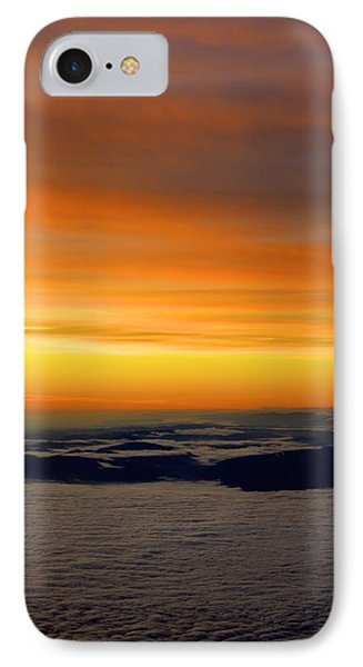 Sunrise View From Plane IPhone Case by Alex King