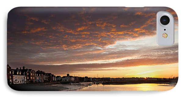 IPhone Case featuring the digital art Sunrise Wivenhoe by David Davies