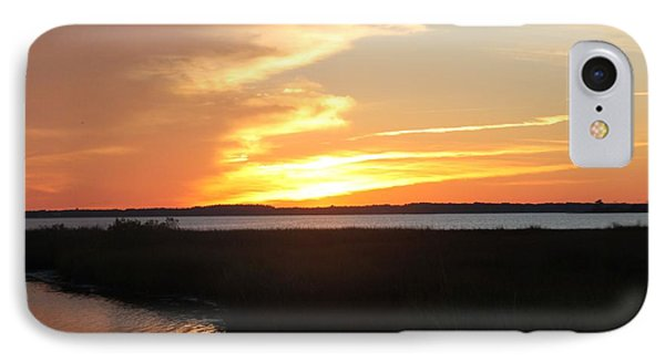 IPhone Case featuring the photograph Sun's Cloudy Fire by Robert Banach
