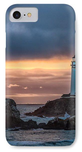 Sun's Last Light IPhone Case by Linda Villers