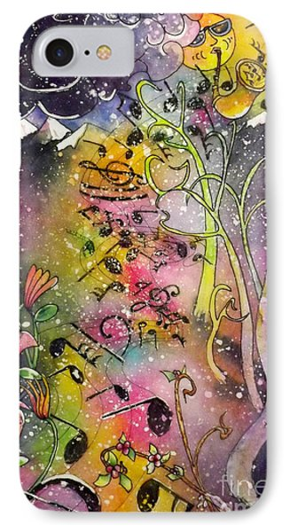 Suns Sax Spring Song IPhone Case