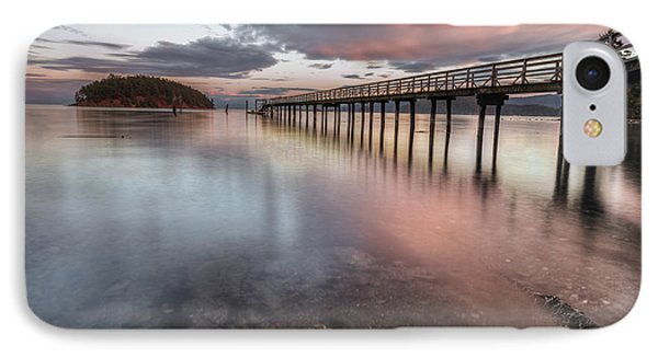 IPhone Case featuring the photograph Sunset - Mayne Island by Jacqui Boonstra