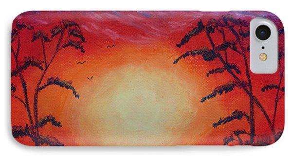 Sunset 1 IPhone Case by Jeanne Fischer