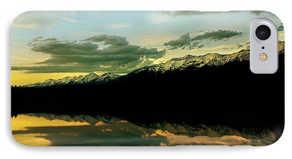 Sunset 1 Rainy Lake IPhone Case