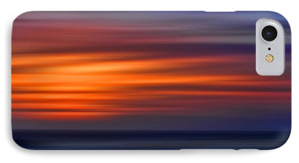 Sunset Abstract IPhone Case by Clare VanderVeen