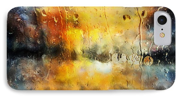 Sunset After The Storm Abstract IPhone Case