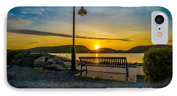 Sunset Along The Hudson Valley IPhone Case by Rafael Quirindongo