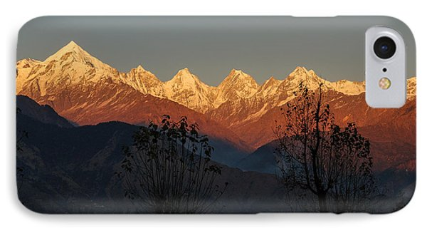 Sunset And Moonrise. The Rendezvous. IPhone Case by Fotosas Photography