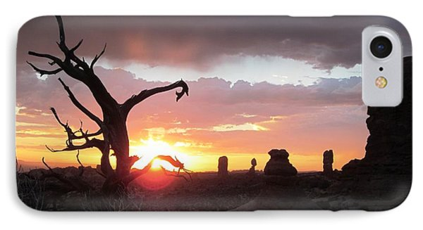 Sunset Arches National Park IPhone Case