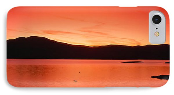 Sunset At Ashokan Reservoir, Catskill IPhone Case by Panoramic Images