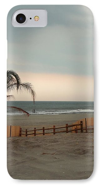 IPhone Case featuring the photograph Sunset At Atlantic City by Margie Avellino