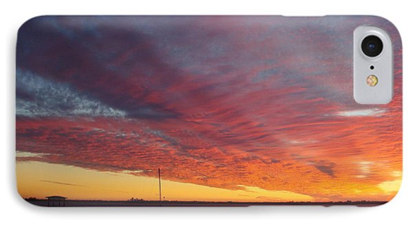 Sunset At Cafe Coconut Cove 6 IPhone Case by Kay Gilley
