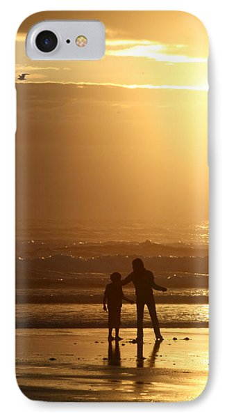 Sunset At Cannon IPhone Case by Debra Kaye McKrill