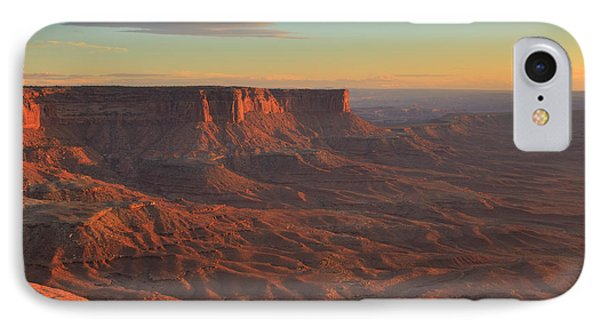 IPhone Case featuring the photograph Sunset At Canyonlands by Alan Vance Ley