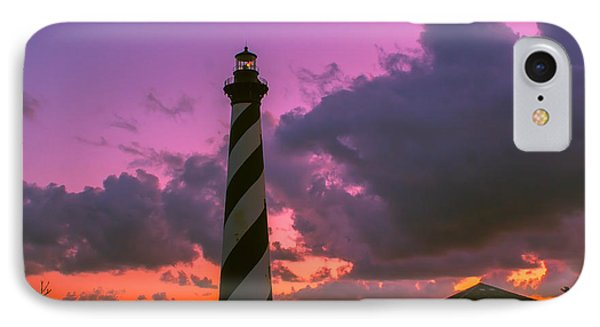 Sunset At Cape Hatteras IPhone Case by Nick Zelinsky