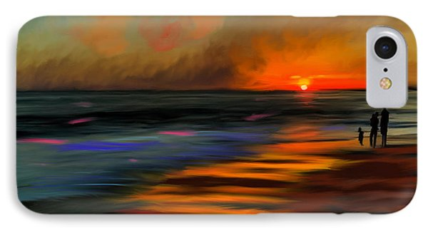 Sunset At Capo Beach In California Phone Case by Angela A Stanton