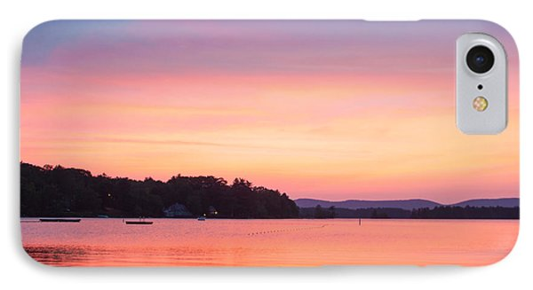 Sunset At Chickawaukee Lake II Phone Case by Ernest Puglisi