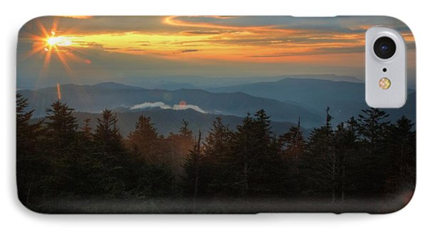Sunset At Clingman's Dome IPhone Case by Coby Cooper