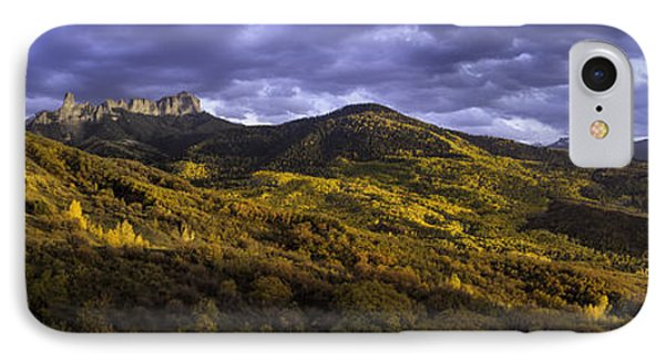 IPhone Case featuring the photograph Sunset At Courthouse Mountain by Kristal Kraft