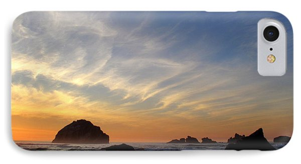IPhone Case featuring the photograph Sunset At Face Rock by Suzy Piatt