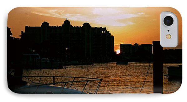 Sunset At Golden Point IPhone Case
