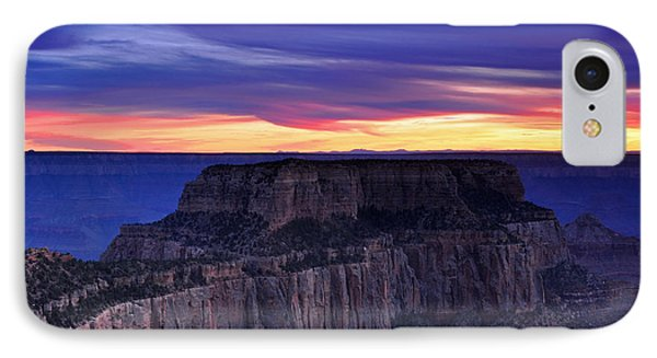 Sunset At Grand Canyon North Rim Royal Point  IPhone Case