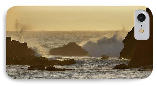 Sunset At Half Moon Bay IPhone Case by Alex King