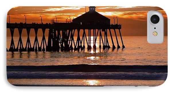 Sunset At Ib Pier IPhone Case