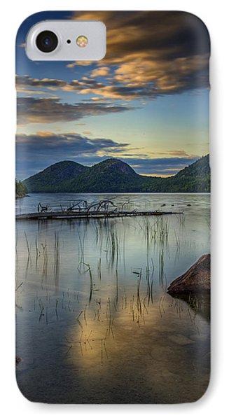 Sunset At Jordan Pond IPhone Case by Rick Berk
