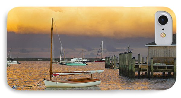 Sunset At Kennedy Compound IPhone Case by Amazing Jules