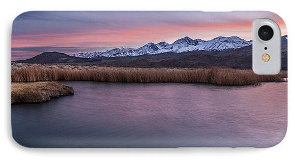 Sunset At Klondike Lake Phone Case by Cat Connor
