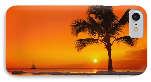 IPhone Case featuring the photograph Sunset At Ko Olina Resort Oahu by Aloha Art