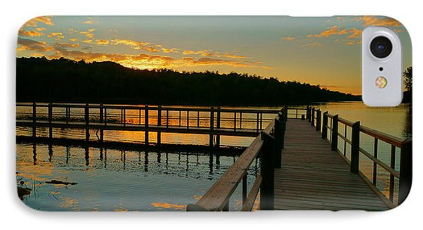 IPhone Case featuring the photograph Sunset At Lake Mcintosh by Chris Fraser
