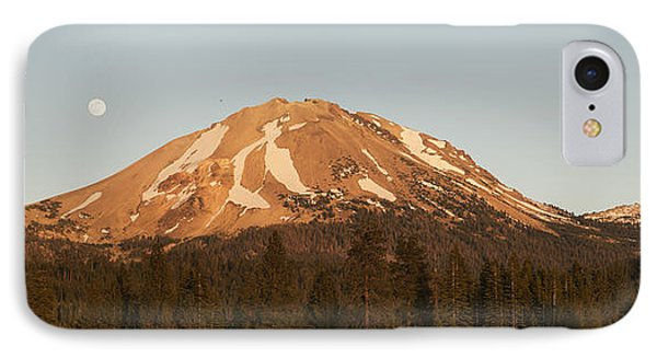 Sunset At Lassen Volcanic Np California IPhone Case by Kevin Schafer