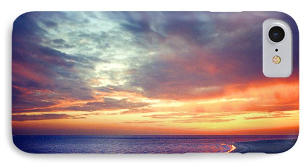 Sunset At Lido Key IPhone Case by Mariarosa Rockefeller