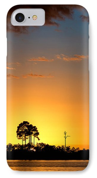 Sunset At Long Pine Key Vertical IPhone Case by Andres Leon