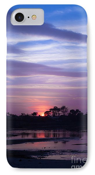 Sunset At Malibu Beach Lagoon Estuary Fine Art Photograph Print IPhone Case