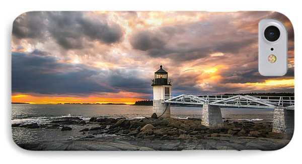 Sunset At Marshall Point IPhone Case by Scott Thorp
