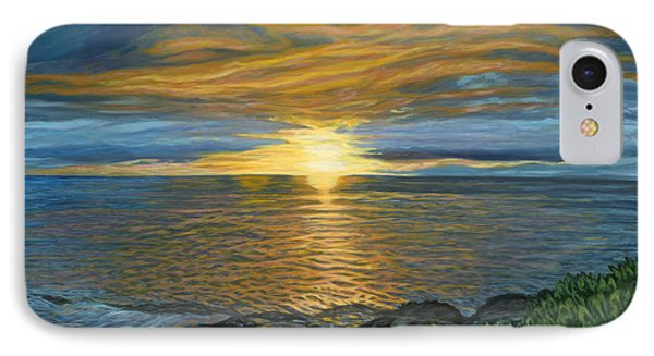 Sunset At Paradise Cove Phone Case by Michael Allen Wolfe