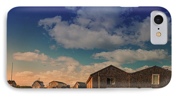 Sunset At Peggy's Cove 05 IPhone Case by Ken Morris