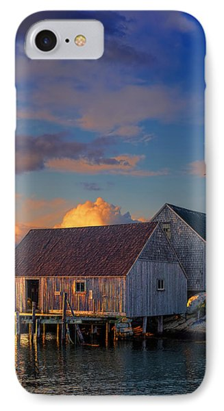 Sunset At Peggy's Cove 06 IPhone Case by Ken Morris