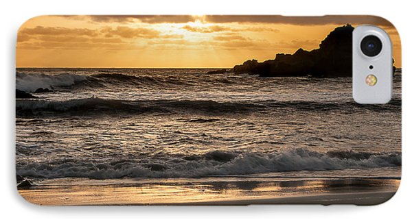 IPhone Case featuring the photograph Sunset At Pfeiffer State Beach by Lee Kirchhevel
