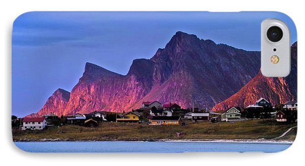 Sunset At Ramberg Phone Case by Heiko Koehrer-Wagner