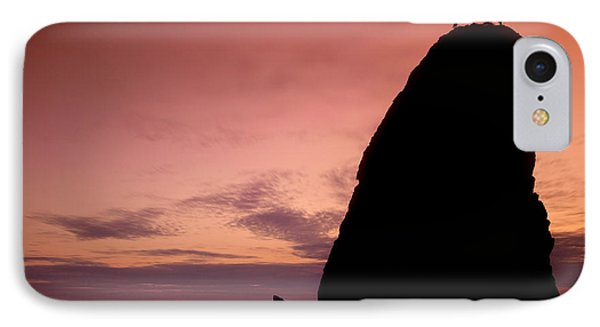 Sunset At Rialto Beach IPhone Case by Keith Kapple
