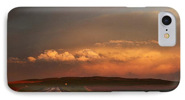 Sunset At Rockglen IPhone Case by Ryan Crouse