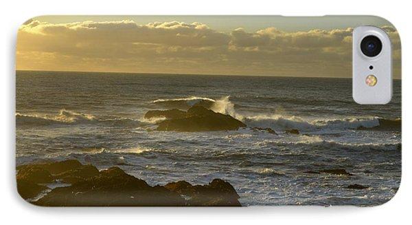Sunset At Santa Cruz IPhone Case by Alex King