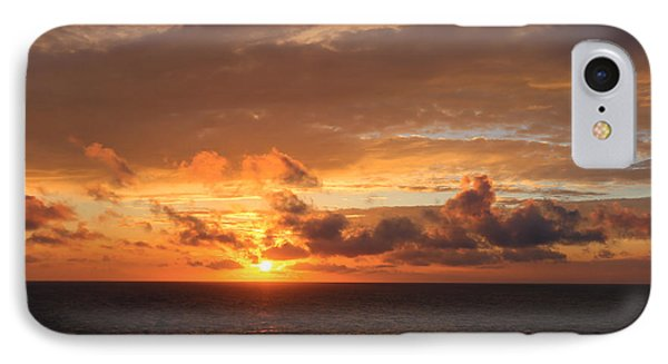Sunset At Sea IPhone Case by John Roberts