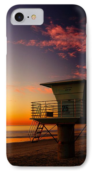 Sunset At South Carlsbad State Park IPhone Case by Eric Foltz