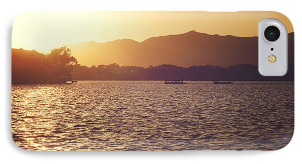 Sunset At Summer Palace IPhone Case by Yew Kwang