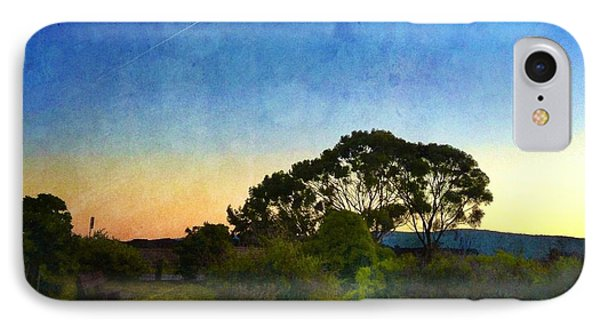 Sunset At The Baylands IPhone Case